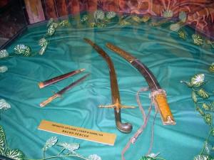 Личното оръжие на Васил Левски. В пантеонната част на музея